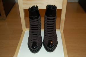 Alexander Wang Leather Booties, Size 6