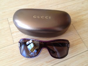 Gucci aviator frames. bought at Ideeli's NYC headquarters - never worn!