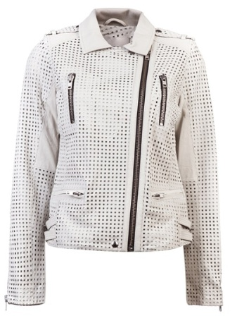 Iro Caelie Jacket in blanc