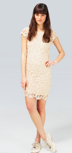 Kai Lace Dress, $165