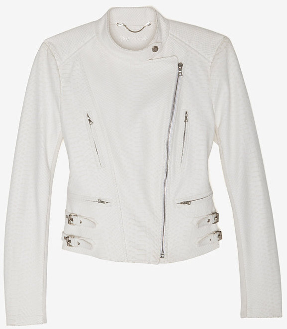 Yigal Azrouel Python Moto Jacket