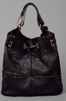 Jerome Dreyfuss Alain Perforated Tote, $1070. Available at Madisonlosangeles.com
