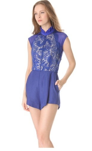 Lover Eternity Romper, $649 at Shopbop.com