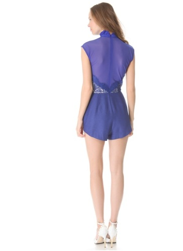 Lover Eternity Romper, Backside