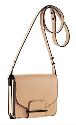 Loeffler Randall Mini Shoulder Bag in Nude, $318